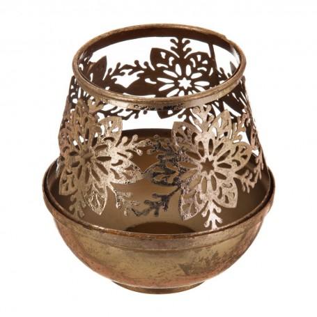 Porta votiva Flores con caja de regalo Haus