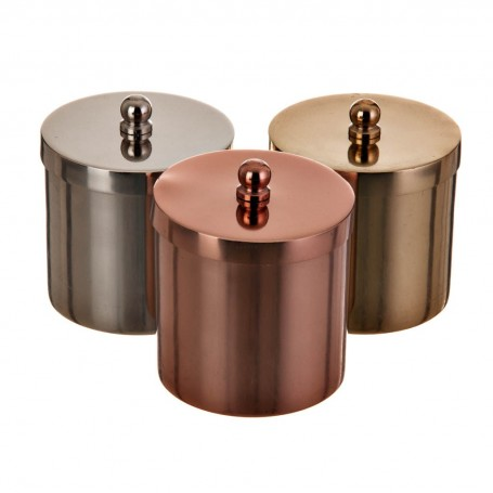 Juego 3 velas frasco / tapa con caja de regalo Haus