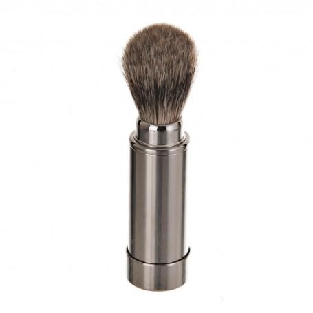 Brocha de viaje con cerdas naturales para barba Becker Solingen