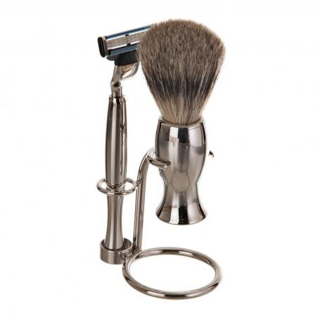 Rasuradora / Brocha para barba con base Labrado Becker Solingen