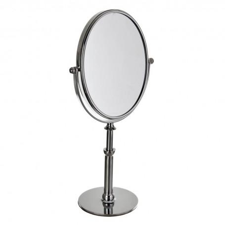 Espejo doble con aumento 7X y pedestal alto Giratorio / Desmontable Becker Solingen