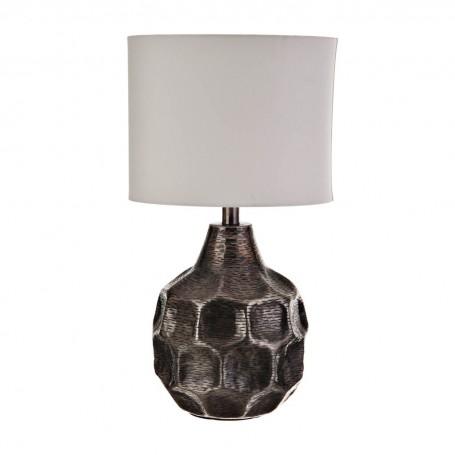 Lámpara de mesa Martillado Bronce / Silver Haus