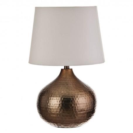 Lámpara de mesa Martillado Dorado Haus