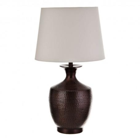 Lámpara de mesa Martillado Bronce Haus