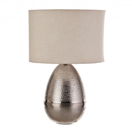 Lámpara de mesa Jaspeado Silver Haus