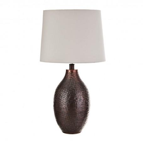 Lámpara de mesa Laberinto Bronce Haus