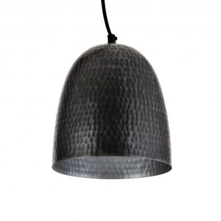 Lámpara colgante Martillado Grafito Haus