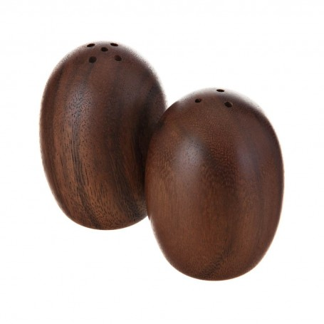 Salero / Pimentero de madera de acacia Natural Billi