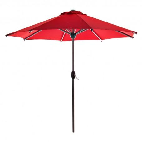 Parasol redondo con estructura