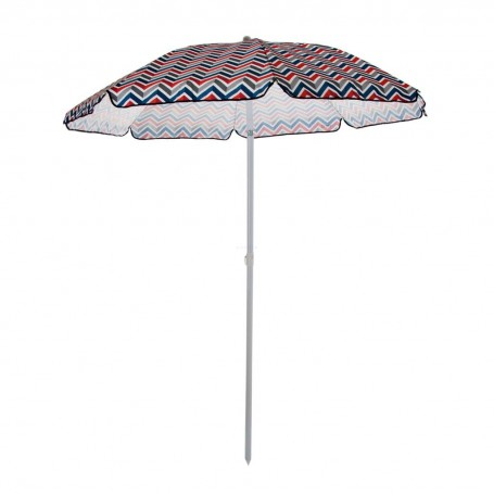 Parasol para playa con bolso Zig Zag Vibe Picnic Time