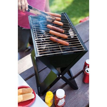 BBQ a carbón portátil / plegable con bolso X-Grill Picnic Time