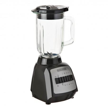 Licuadora con vaso de vidrio 550W DURAPRO Black & Decker