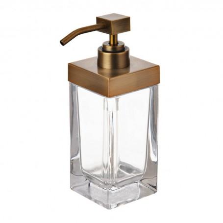Dispensador para jabón Gold Square