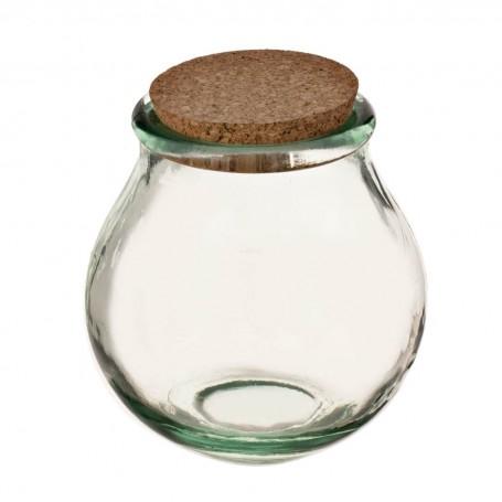 Repostero con tapa de corcho Ecoglass