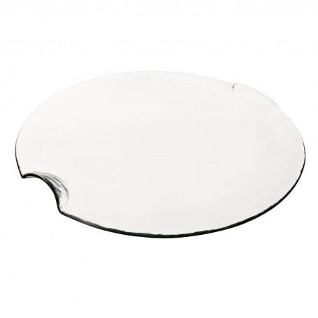 Fuente / Plato para queso Clear Ecoglass