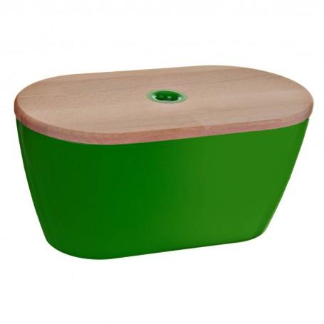 Panera con tapa de madera Adamo