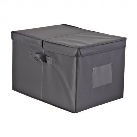 Caja organizadora con tapa y agarraderas Novo