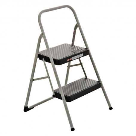 Escalera plegable de 2 peldaños con antideslizante Cosco