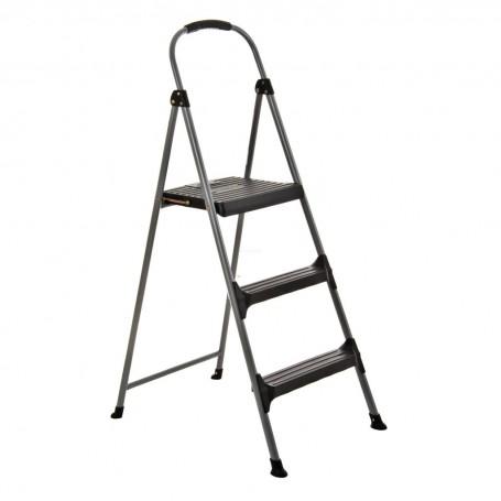 Escalera grande plegable de 3 peldaños con antideslizante Cosco
