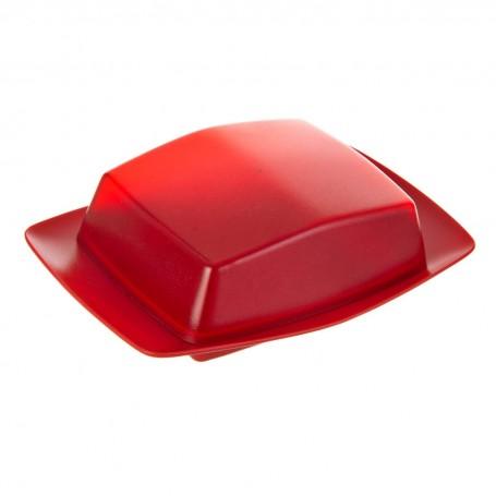 Mantequillera con tapa Rojo Koziol