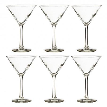 Juego de 6 copas Martini Glam Durobor