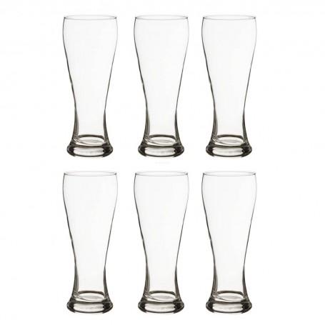 Juego de 6 vasos cerveceros Danube Durobor