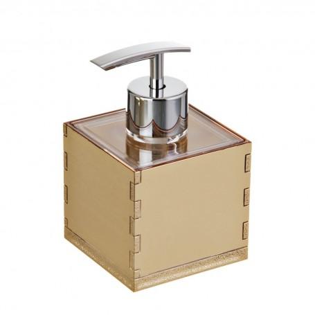 Dispensador para jabón Dorado