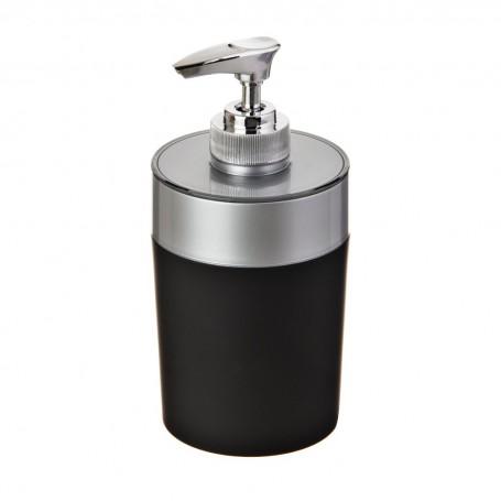 Dispensador para jabón Negro / Silver