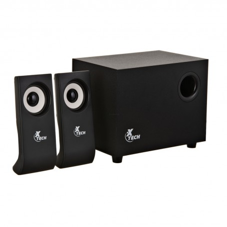 Parlantes para PC 10W RMS / 2.1 canales XTS-410 XTech