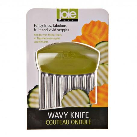 Cuchillo para garnish ondulado Surtido Joie
