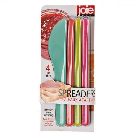 Juego de 4 espátulas multicolor Joie