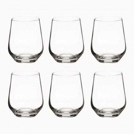 Juego de 6 vasos Splendour Krosno Glass