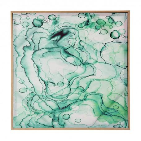 Cuadro con marco habano Abstracto