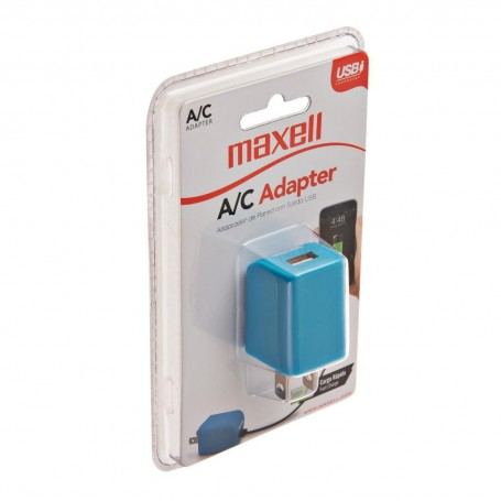 Cargador de pared 1 USB Maxell