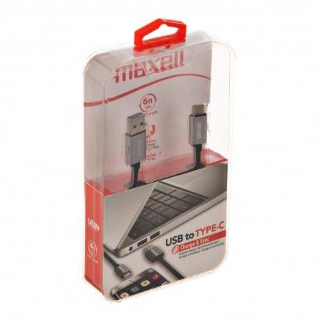 Cable Tipo-C a Tipo-C Maxell
