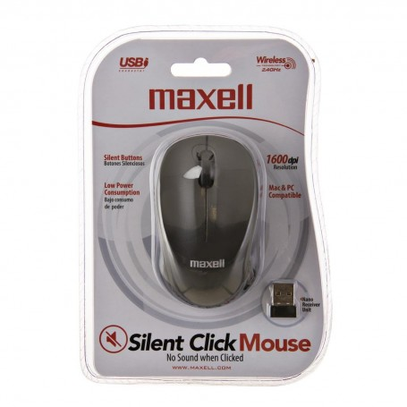 Mouse inalámbrico silencioso Maxell