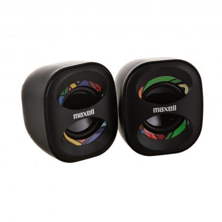 Parlantes estéreo para PC USB Multicolor Maxell