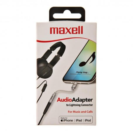 Adaptador Lightning / 3.5 mm Maxell
