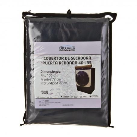 Protector para secadora de carga frontal y puerta redonda 40 lbs Dicover