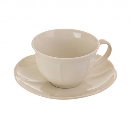 Juego de taza y plato para té New Ritz