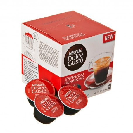 Juego de 16 cápsulas Espresso Generoso Dolce Gusto