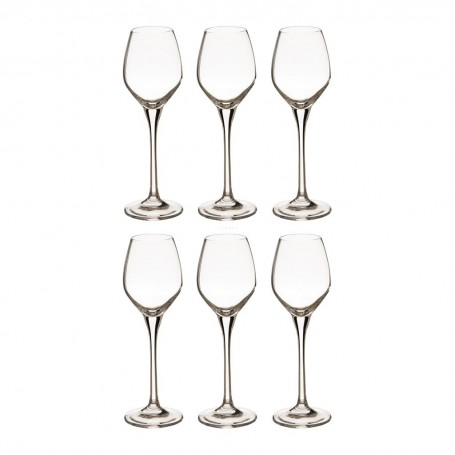 Juego de 6 copas para licor Splendour Krosno Glass