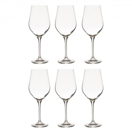 Juego de 6 copas para agua Splendour Krosno Glass