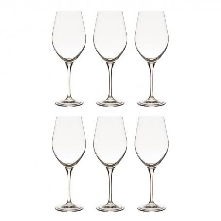 Juego de 6 copas para vino tinto Splendour Krosno Glass