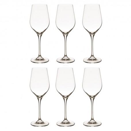Juego de 6 copas para vino blanco Splendour Krosno Glass