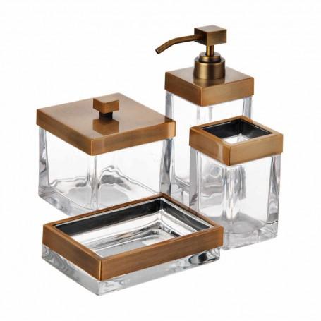 Colección de accesorios para baño Gold Square