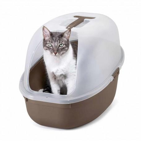 Caja de gato para arena con recogedor Mocca Rimax