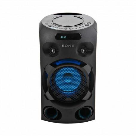 Sony Parlante inalámbrico Bluetooth iluminado para fiesta MHC-V02 más Trípode