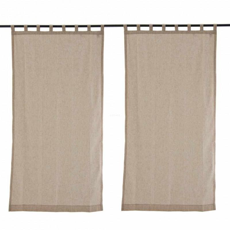 Juego de 2 cortinas pesadas Mont