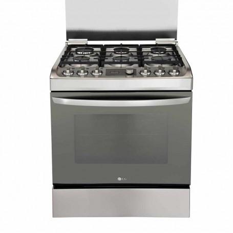 LG Cocina a gas con encendido automático / anti huellas RSG314M
